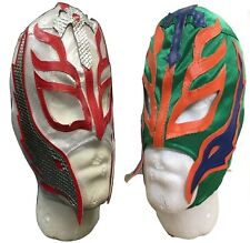 UK 2 (TWO) REY MYSTERIO WRESTLING WWE FANCY DRESS UP MASK CHILDRENS COSTUME RAY