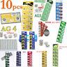 5/10/100Pcs CR2032 Battery DL2032 AG4 3V Coin Cell Button Batteries Alkaline
