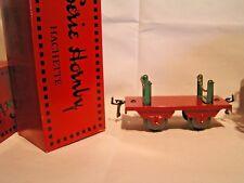 TRAINS HORNBY / HACHETTE ech/scale O 1/43 - WAGON A RANCHERS POUR GRUMES + Boîte