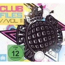 CLUB FILES VOL. 11 2 CD+DVD MIT DUCK SAUCE UVM. NEU
