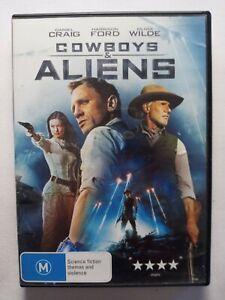 Cowboys & Aliens DVD. Daniel Craig. Ex rental. Good used condition.