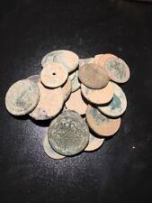 Random 1700s-1800s Spanish Pirate Copper Cob Coin Treasure Coin