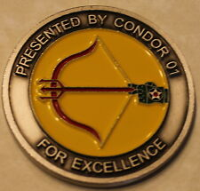 682d Air Support Operations Sq ASOS CC Condor 01 TACP Air Force Challenge Coin