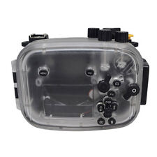 Mcoplus 130ft/40m Waterproof Underwater Camera Diving Housing Case for Sony A7