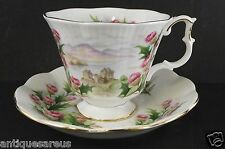 ROYAL ALBERT ROAD TO THE ISLES SERIES    CABINET TEA CUP AND SAUCER