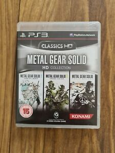 Metal Gear Solid HD Collection PS3 Sony PlayStation 3 Video Game