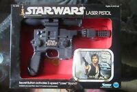 Vintage Kenner Star Wars 1978 Laser Pistol Han Solo's Blaster