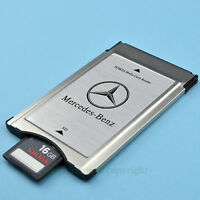 PCMCIA TO SD SDHC CARD Adapter for Mercedes-Benz+SanDisk 16G 80MB/s' High Speed
