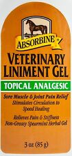 Absorbine Veterinary Liniment Gel, 3 oz