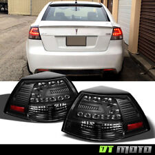 Blk 2008-2009 Pontiac G8 Lumiled LED Tail Lights Brake Lamps 08-09 Left+Right