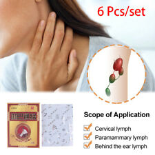6 Patches Neck Lymphatic Drainage Detox Patch Anti-Swelling Painless Nodes P_H5