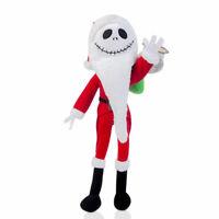 The Nightmare Before Christmas Jack Skellington Plush Doll -Santa Claus Version