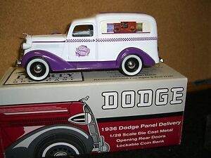 1/28 SpecCast 1936 Dodge Humpback panel delivery- Sun Sweet