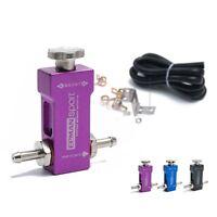 Universal 1-30psi Adjustable Manual Turbo Boost Controller Bleed Valve Purple