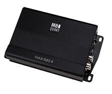 MB Quart NA2-320.4 compact Four Channel 320 watt Powersports amplifier