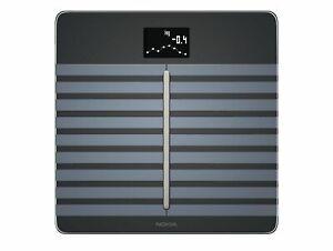 Withings / Nokia Cardio Body Analyzer Scale WLAN / Bluetooth Black Genuine New