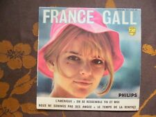 EP FRANCE GALL - L'Amérique +3 / Philips 437.125 BE Colombet Sleeve (1965)France