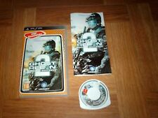 GHOST RECON 2...advanced warfighter...jeu complet...sur PSP