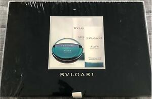 BVLGARI AQUA GIFT SET for MEN 3 pc - EDT 50ml/ Shower Gel 75ml/ After Shave 75ml