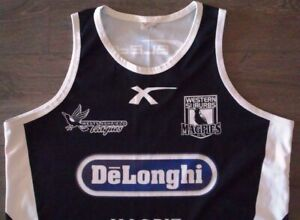 WESTERN SUBURBS MAGPIES RUGBY LEAGUE TRAINING SINGLET XL TIGERS NRL WESTS