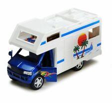 "5"" Kinsmart Kinsfun Camper Van Diecast Model Toy Motorhome Travel Car- Blue"