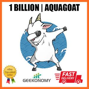 "1 Billion ""1,000,000,000 AquaGoat (AQUAGOAT) -MINING CONTRACT- Crypto Currency"