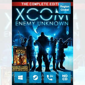 XCOM Enemy Unknown Complete Edition for PC Game Steam Key Region Free