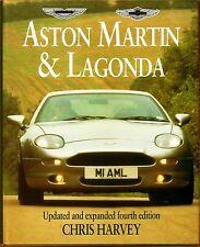 ASTON MARTIN & LAGONDA FOURTH EDITION CHRIS HARVEY CAR BOOK