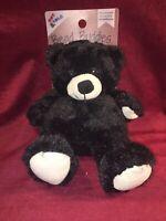 Bead Buddies BLACK BEAR Aromatherapy Hot and Cold Plush Cozy Animal Hugs NEW