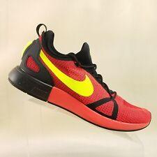3267b4c4cce Nike Mens Duel Racer Size 12.5 Bright Crimson Volt Black 918228 602  C34