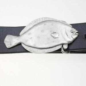 Gürtelschnalle Fisch Schließe für Wechselgürtel, ledergürtel Buckle zamak GS325