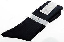 Calza corta calzino circolazione lana PUNTO relax 7/3 T.12/44-45 c.blu