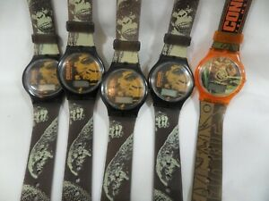 Vintage 90s Congo The Movie Lot Of 5 Promotional Watches UNTESTED AS IS