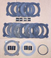 NEW GM 9.5 9.6 9 1/2 5/8 12 14 BOLT EATON GOV LOC POSI G80 CLUTCH POSI DISC SET