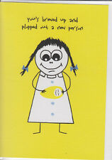 Fanny In Tatters - Funny Humour Card - (Random)~ Free Postage Uk