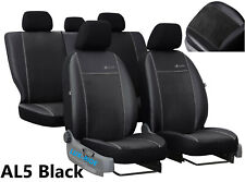 """FORD FOCUS Mk3 2011-2018 ECO LEATHER & ALICANTE """"Exclusive"""" TAILORED SEAT COVERS"""