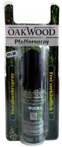 OAKWOOD Tierabwehrspray 15ml - 11%OC Pfefferspray Selbstverteidigung Schutz Jet