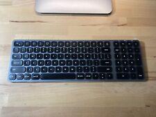 Satechi iMac Tastatur Tastenbeleuchtung Aluminium Bluetooth QWERTY EN-US Layout