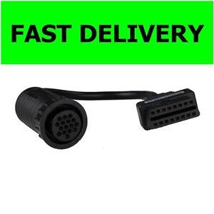 DAF TRUCK 16 PIN to OBD/OBD2 connector AUTOCOM, DELPHI, WURTH