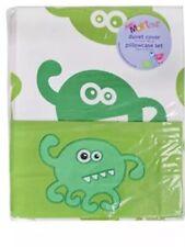 Izziwotnot Ozone Mini Monster Single Duvet Cover And Pillow Case