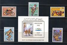 Comoro Islands #664, 665-70 Olympics Gold Medals MNH Superb SCV $20.85