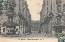 CPA 75 PARIS 16e RUE GUY DE MAUPASSANT