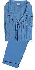 Gestreifte Herren-Pyjama-Sets aus Baumwolle