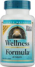 Source Naturals - Wellness Formula - 45 Tablets