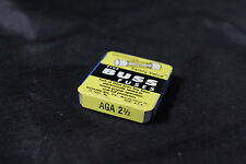 New Buss Fuse AGA 2 1/2 (5 pack) Box (C-2)