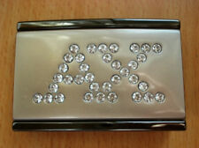 AX Rhinestone Design Belt Buckle