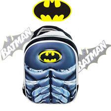 BATMAN DC BACKPACK SHOULDER BAG KIDS BOY CHILD PRESCHOOL SCHOOL PICNIC DAYCARE