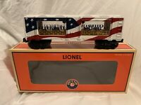 ✅LIONEL LIGHTED USA AMERICAN FLAG TCA DESERT 2009 CONVENTION MINT CAR 6-52508!