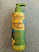Alba Botanica Hawaiian Facial Cleanser Pore Purifying Pineapple Enzyme 8 oz NEW