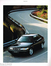 1995 SAAB Brochure / Catalog: 9000,CS/CSE,CDE,AERO,CONVERTIBLE,TURBO,900S,
